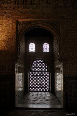 Detalles interior...( Palacio Nazaríes )
