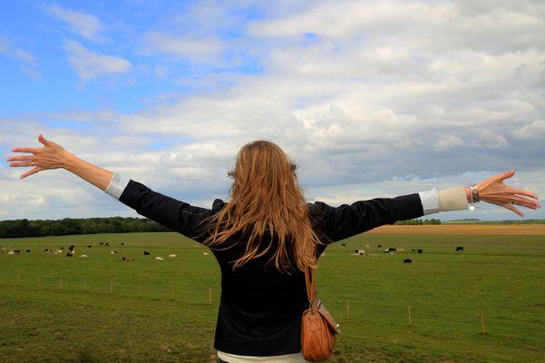 Détente dans la campagne anglaise