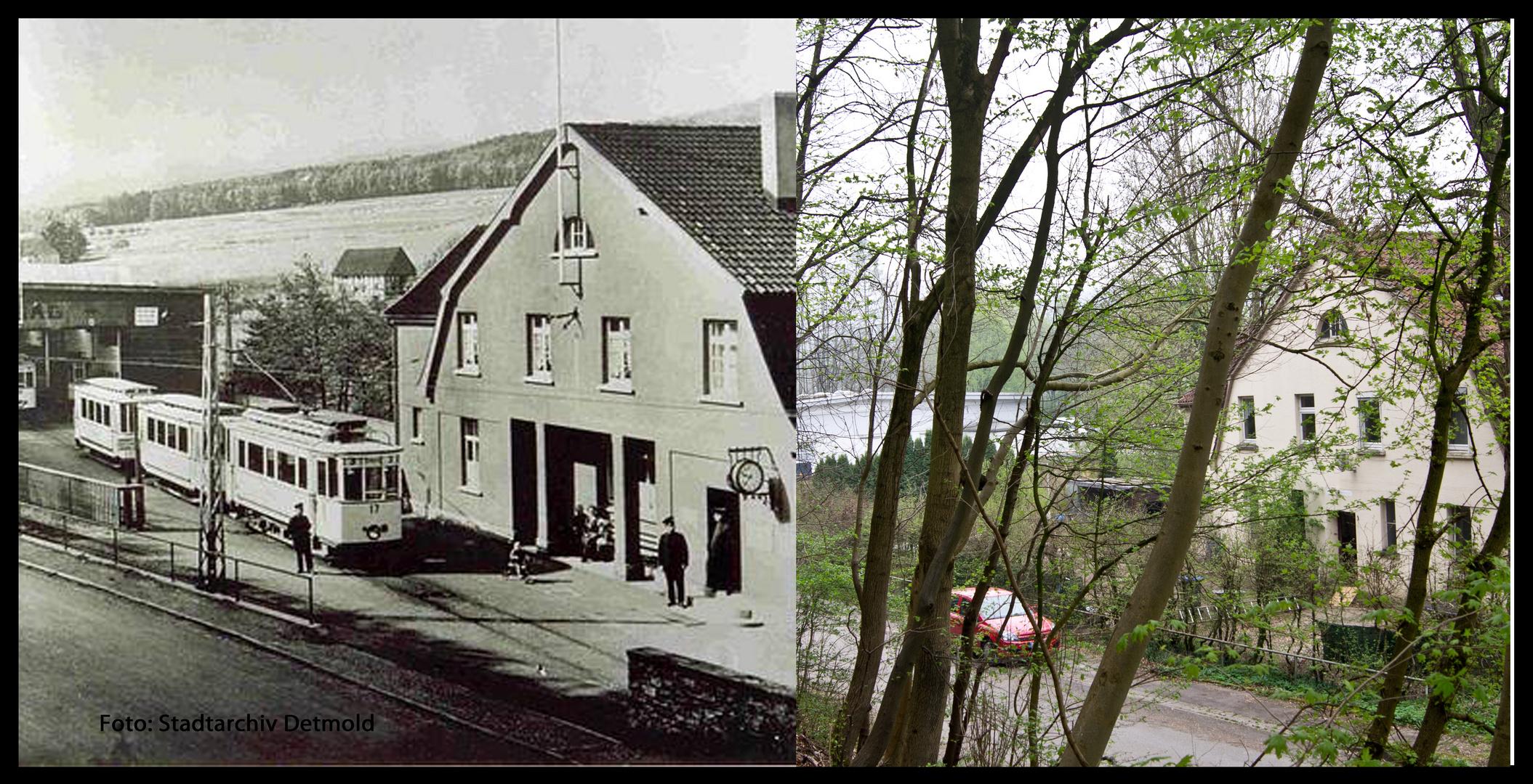 Detmold History 23/ Strassenbahndepot