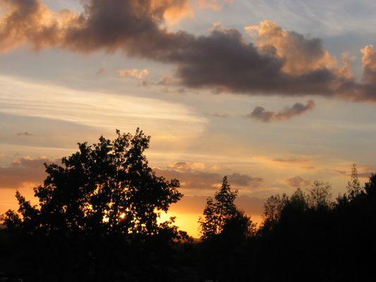 Detmolder Sonnenuntergang
