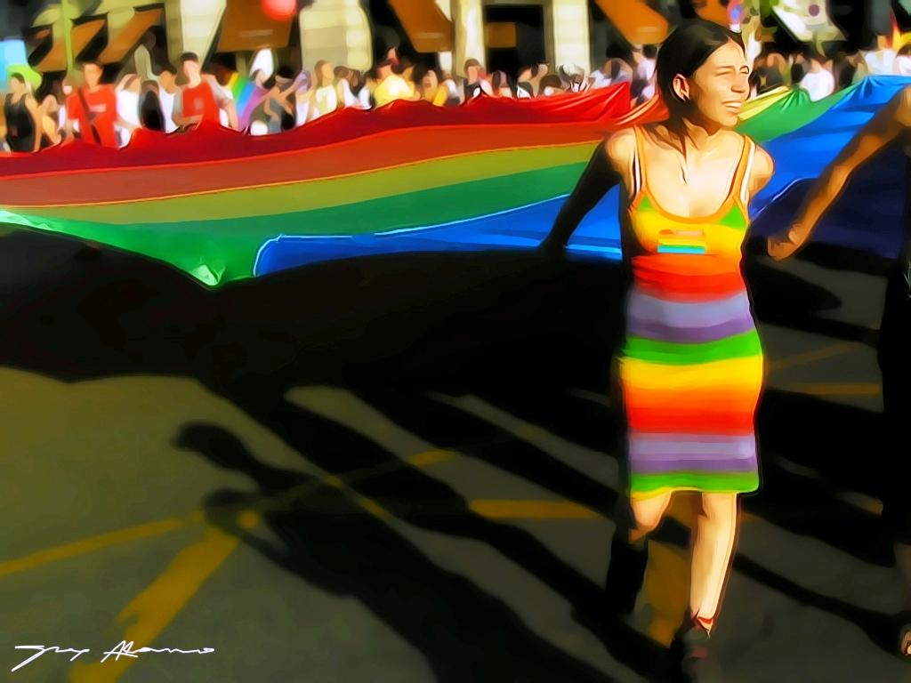 Detrás del arco iris