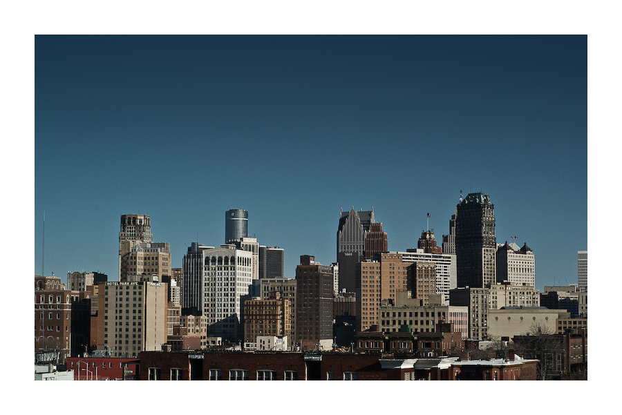 Detroit from the back