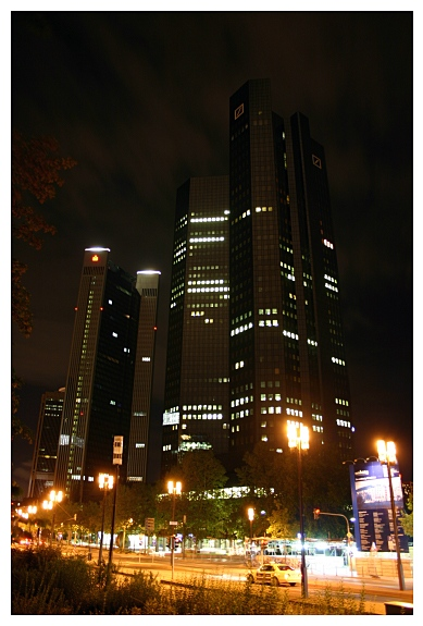 Deutsche Bank nachts