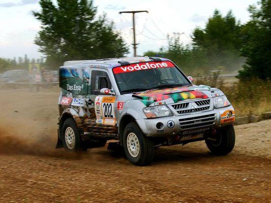"Deutsche Dakar-Rallye ""Baja"" bei Leipzig"
