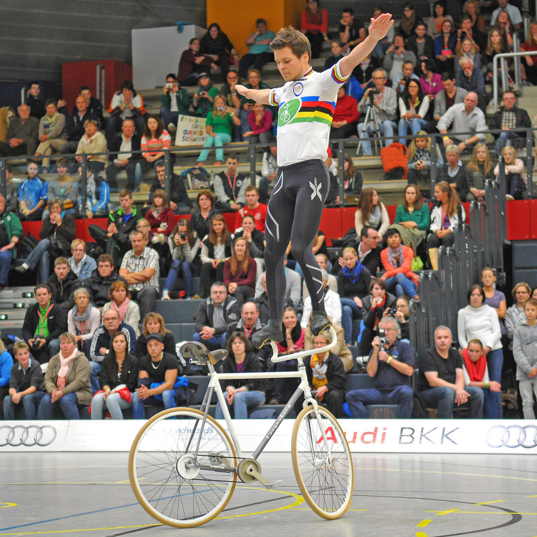 Deutsche Meisterschaften im Hallenradsport 2013 / Baunatal