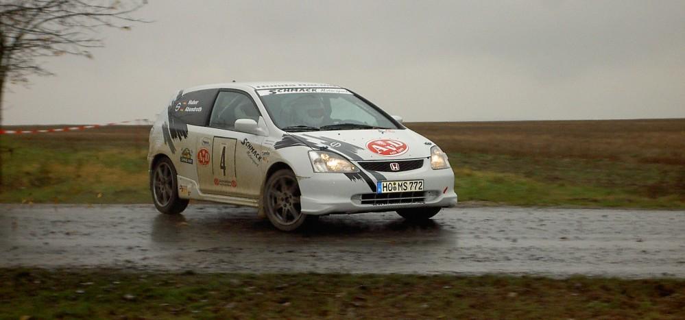 Deutsche Rallye Serie Gewinner 2007 Abendroth / Huber