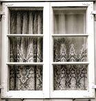 Deutsche Wohnzimmerfenster