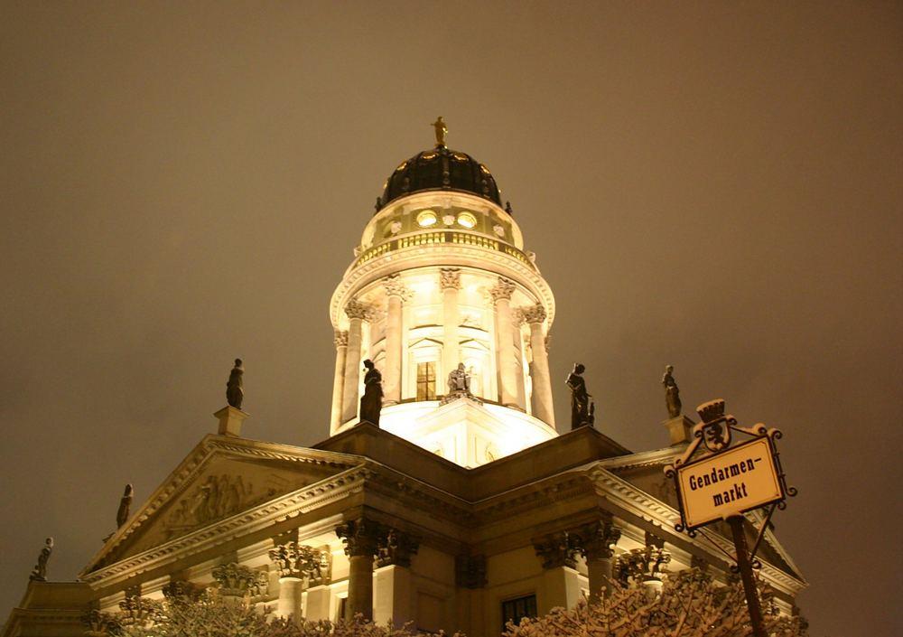 Deutscher Dom im sanften Licht