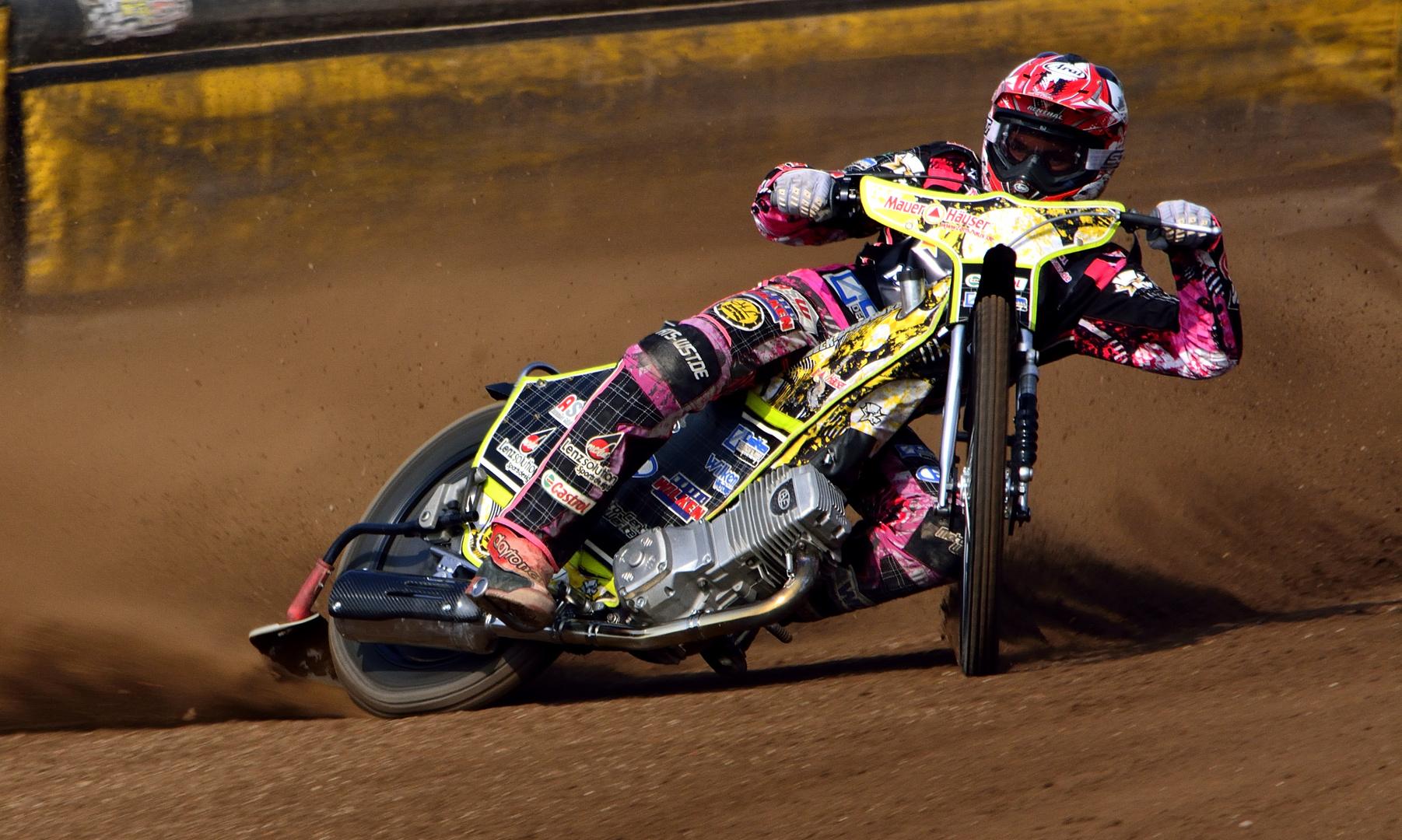 Deutscher Meister 2013 / 2014 im Speedway Kai Huckenbeck