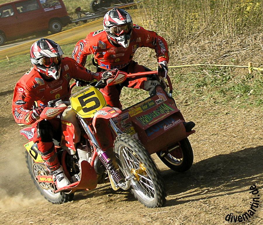 Deutscher Meister Moto-Cross Gespannmotorräder