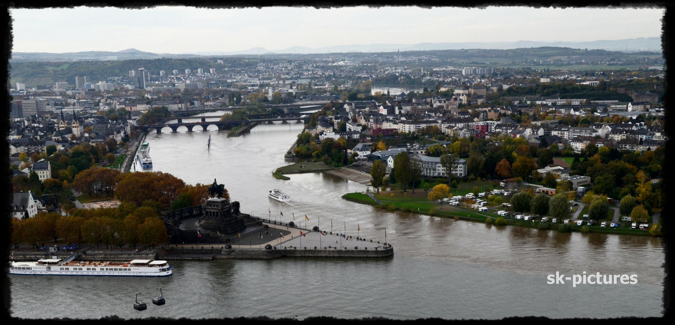 Deutsches Eck / Koblenz