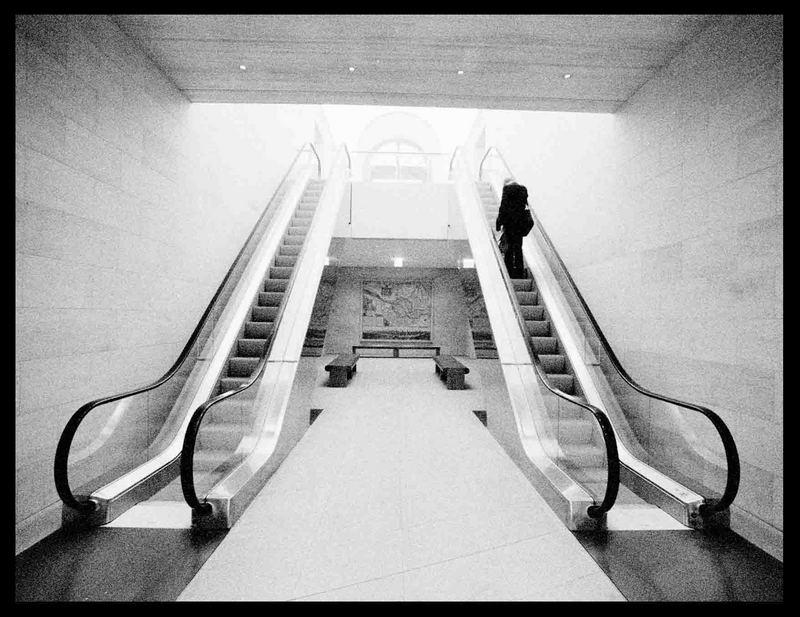 Deutsches Historisches Museum - staircase