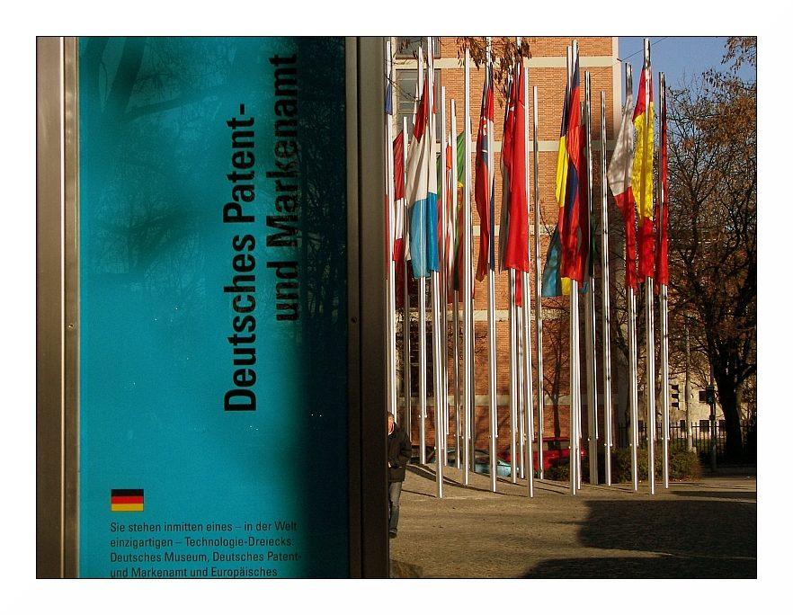 deutsches und europäisches Patentamt in München