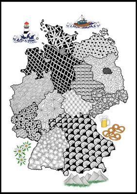 Deutschland als Tangle-Art