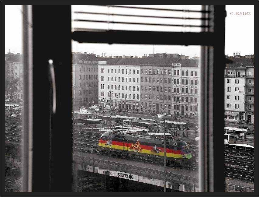 Deutschland aus dem Küchenfenster