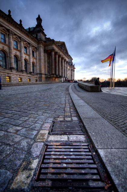 ...Deutschland im Abfluss...