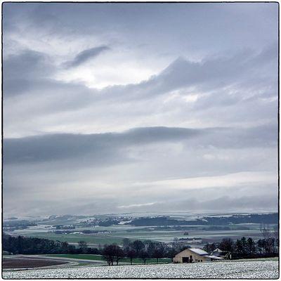 Deutschland im Quadrat - Winterhimmel