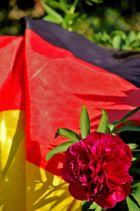 Deutschlandflagge & Blume