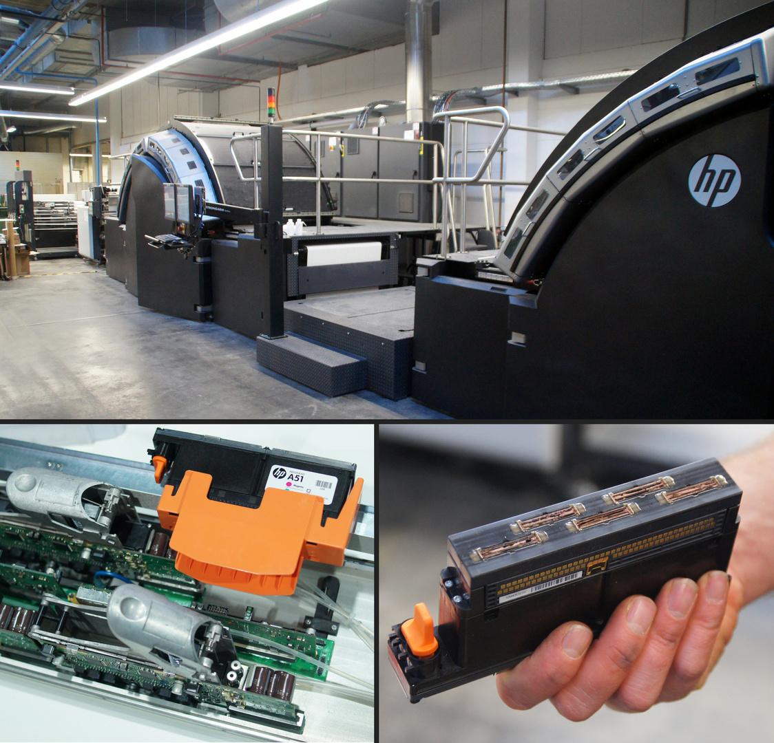 Deutschlands größte Inkjet-Bücherdruckmaschine