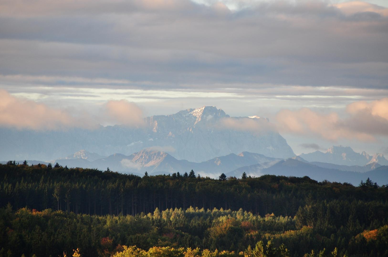 Deutschlands höchster Berg.