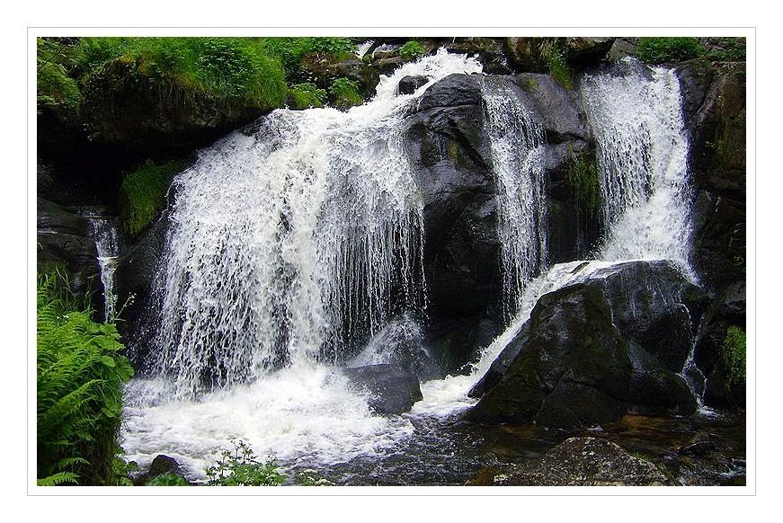 Deutschlands höchster Wasserfall