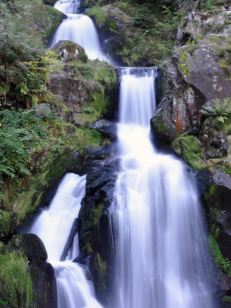 Deutschlands höhster Wasserfall