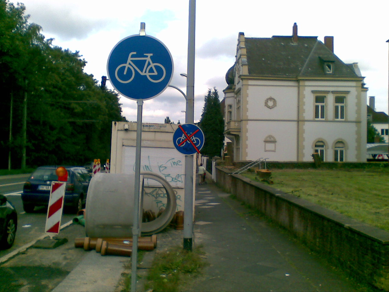 Deutschlands kürzester Radweg