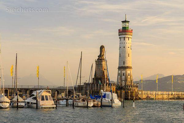 Deutschlands südlichster Leuchtturm
