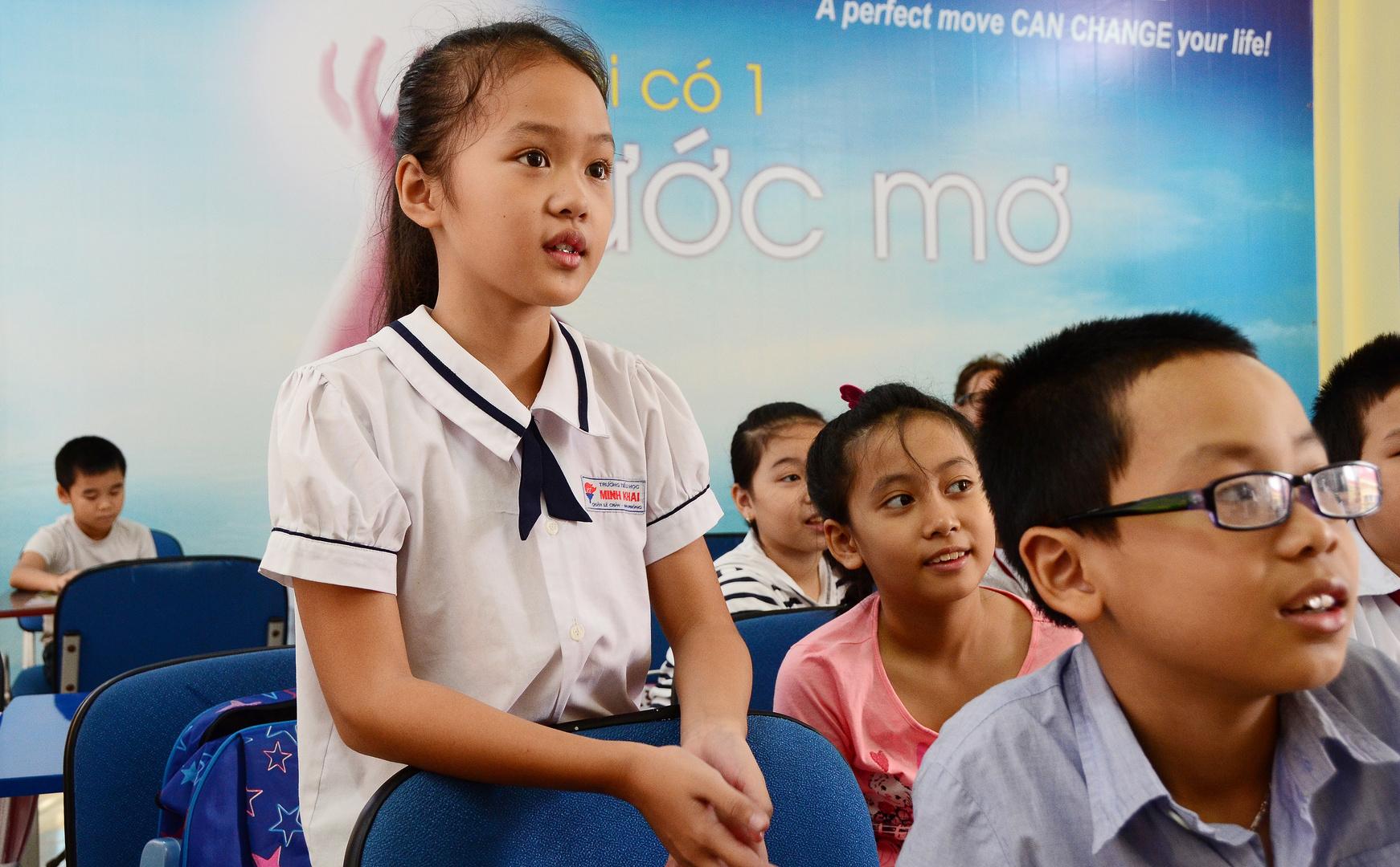 Deutschunterricht in Vietnam