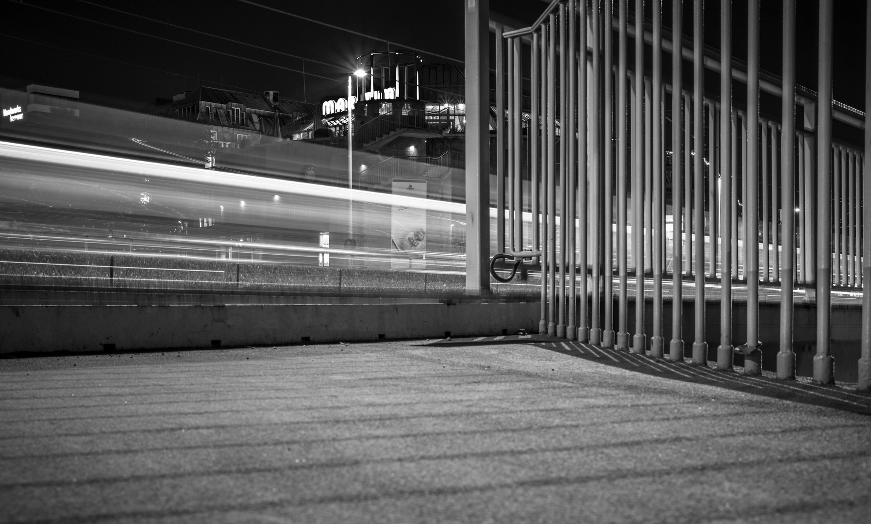 Deutzer Brücke 2   Nacht