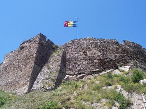 Devaer Burg in Siebenbürgen