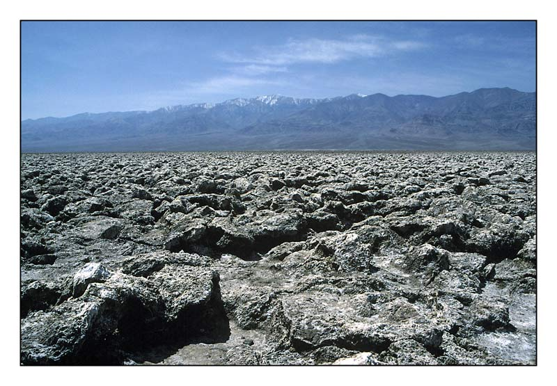 devils golf-course (death valley) .. in farbe