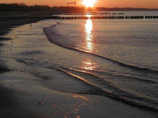 Dezember-Strand