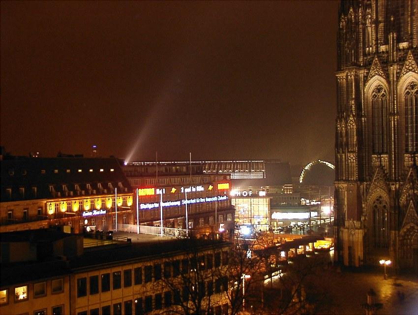 Dezembernacht in Köln