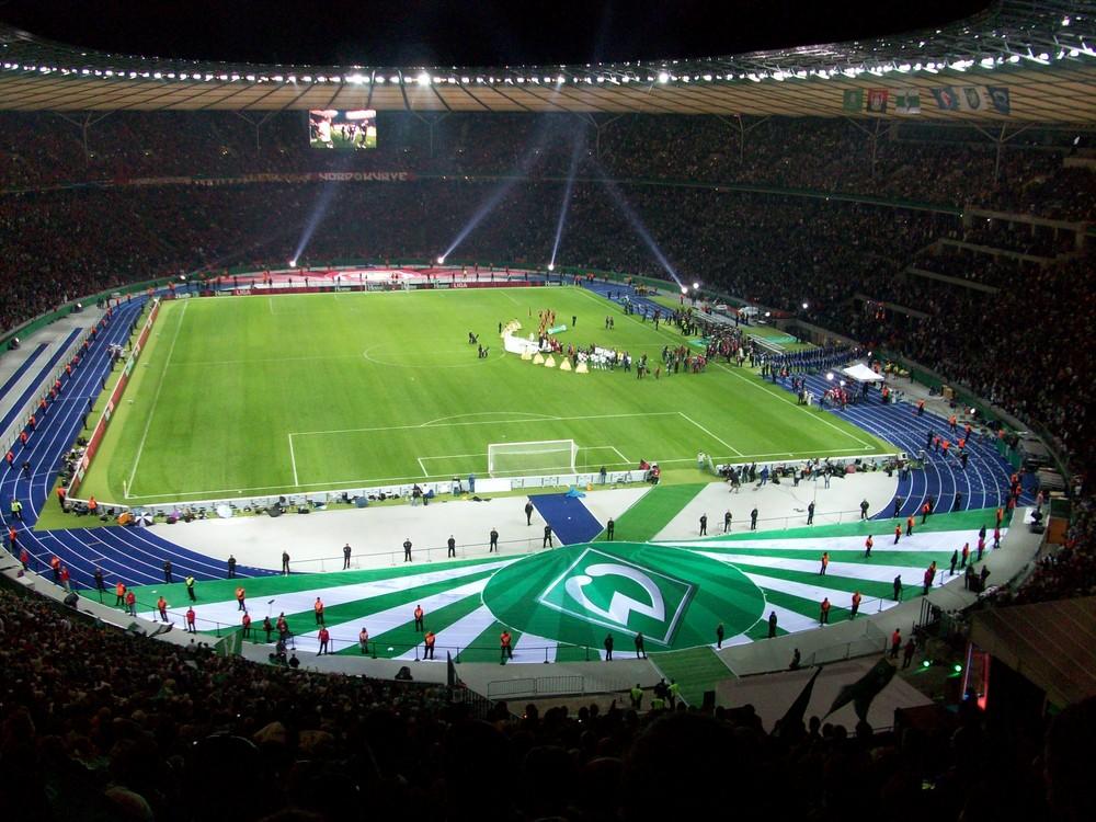 DFB Pokalfinale 2009 Berlin.