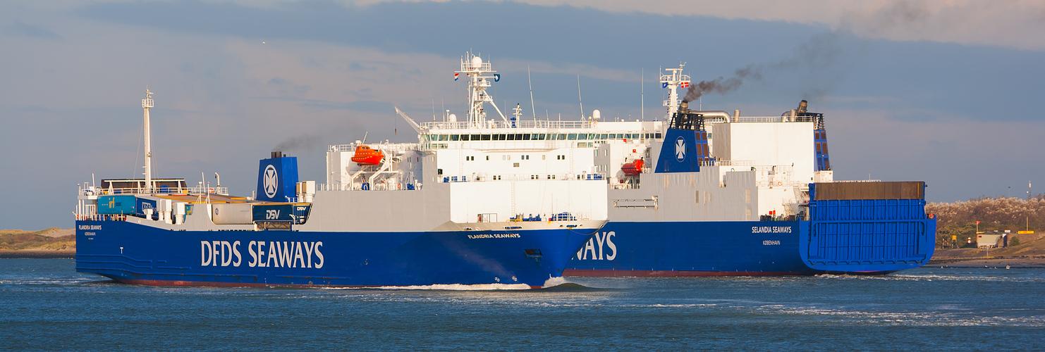 DFDS / FLANDRIA + SELANDIA / Nieuwe Waterweg / Rotteram