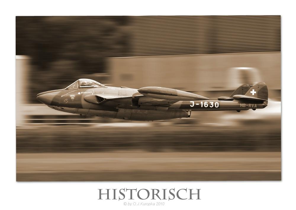 """DH-112 Venom Mk. 1 """"historisch"""" ..."""