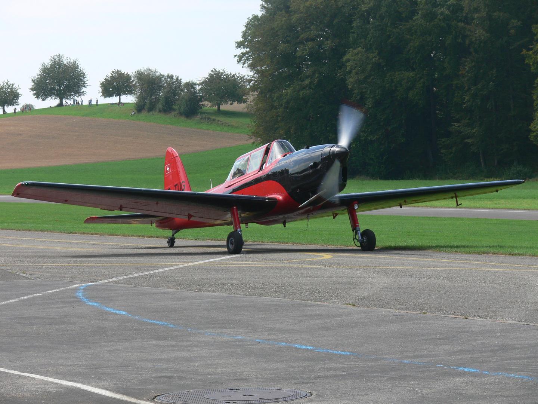 DH Chipmunk an der Flügerchilbi Bleienbach