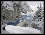 d'hiver sur le Rigi