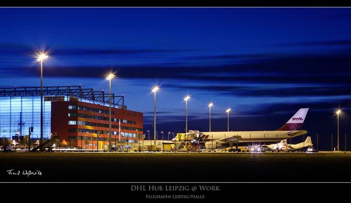 DHL Hub Leipzig @ Work