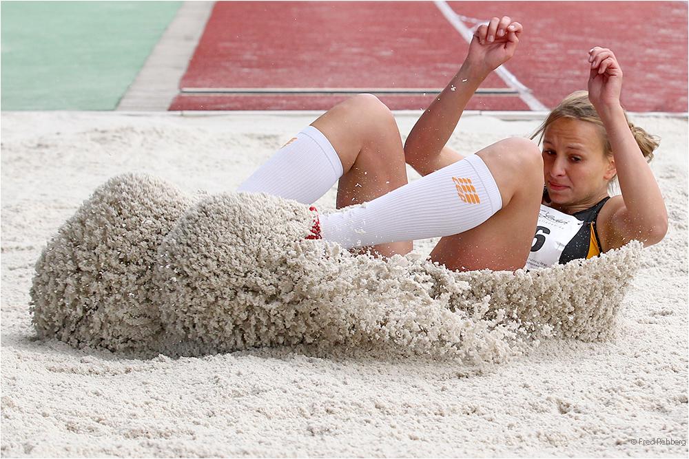 DHM Leichtathletik 2014 – Weitsprung, Frauen - Finale