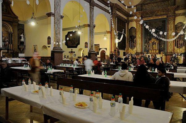 Día de Navidad en la Iglesia de los Capuchinos ( Palma)