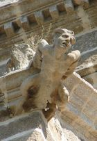 Diablo (I) Catedral de Coria (Cáceres) Gárgola