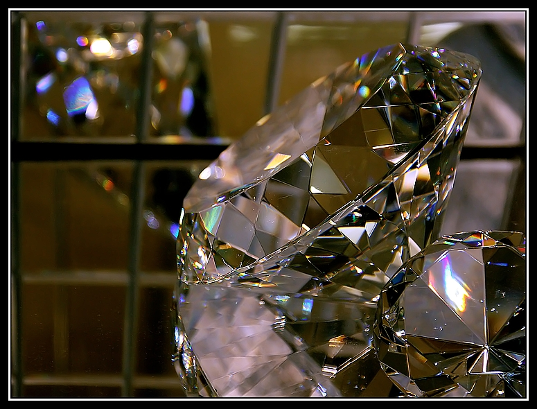 diamant, entrauscht