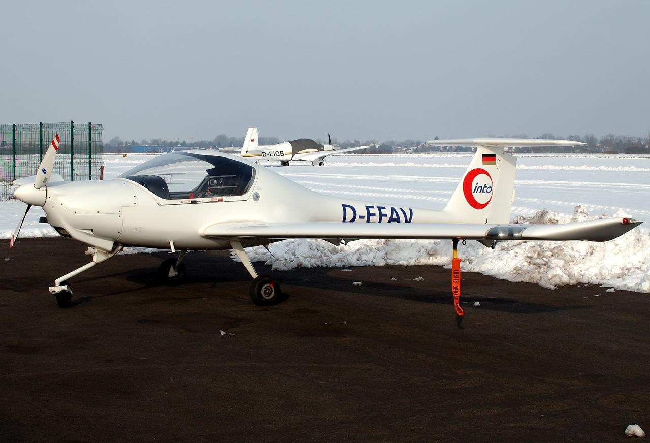 Diamond DA-20 im Winter
