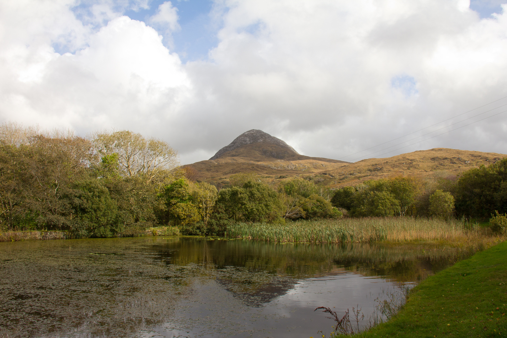 Diamond Hill, Connemara National Park, Co Galway, Ireland