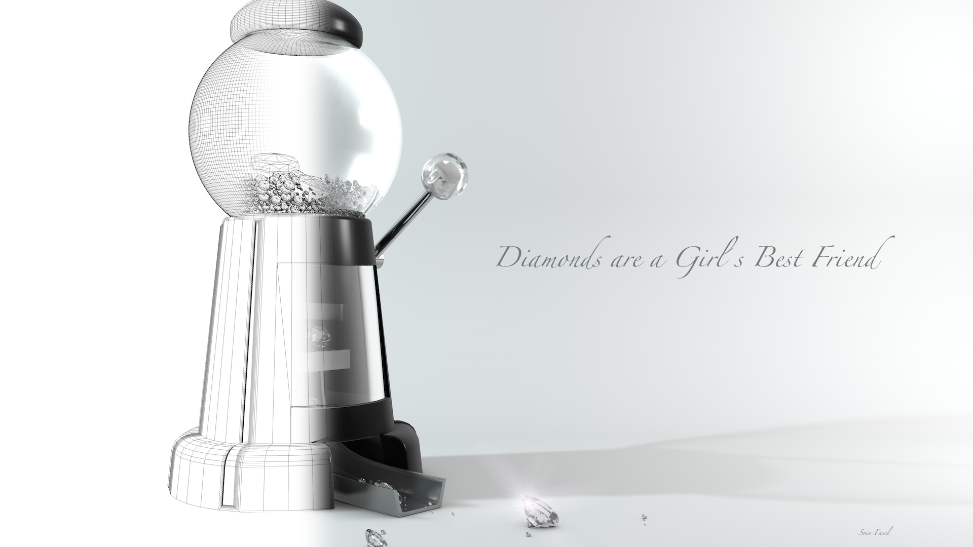 Diamonds are a Girls....