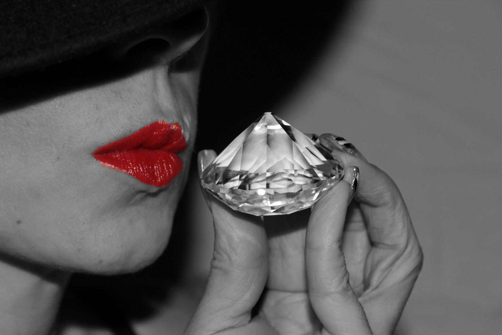 Diamonds are a girl´s...