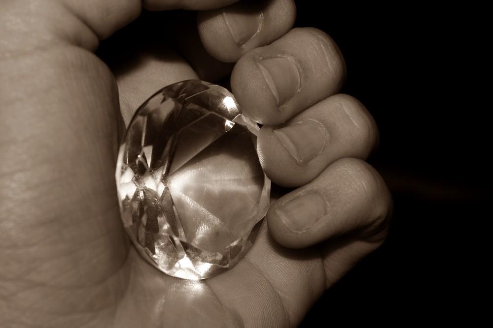 Diamonds,they fade