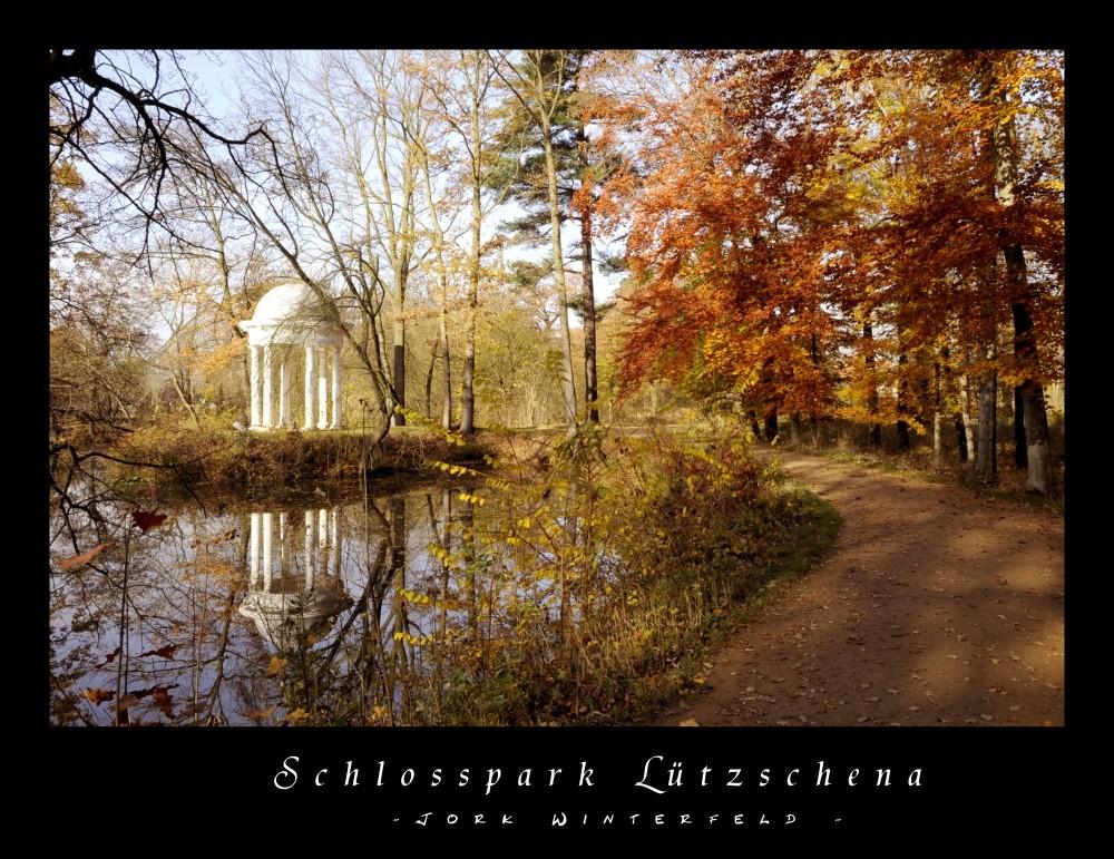 Diana-Tempel im Schlosspark Lützschena (bei Leipzig)